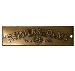Reimersholms Brand Sign