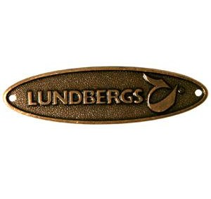 Lundbergs Brand Sign