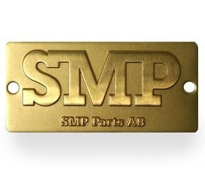 SMP Parts AB Brand Sign