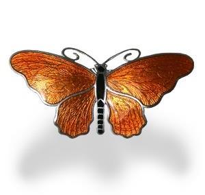Fjäril brosch