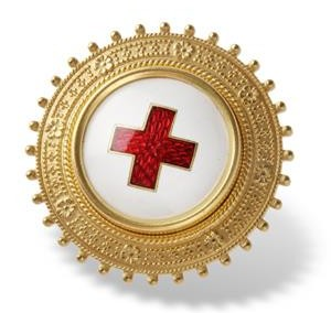 Vårdbrosch Sjuksköterska