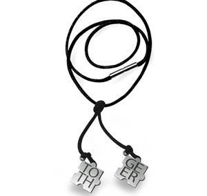 Halsband läder pussel