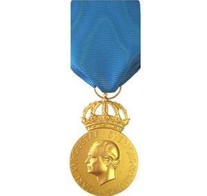 Medalj Kunglig Hedersmedalj