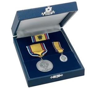 Medaljer i etui