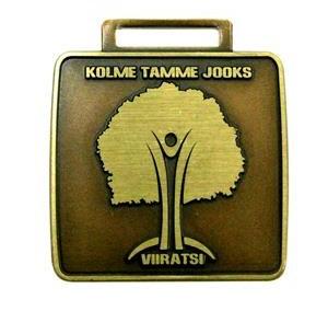 Medalj Kolme Tamme Jooks