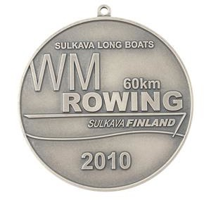 Medalj WM Rodd Finland