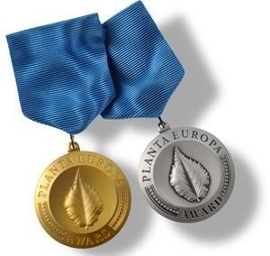 Medalj Planta Europa Award
