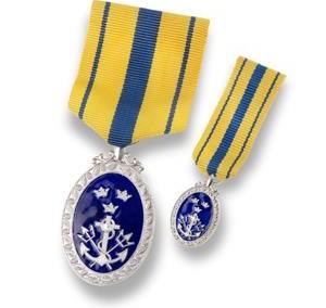 Medalj och miniatyr bröstband