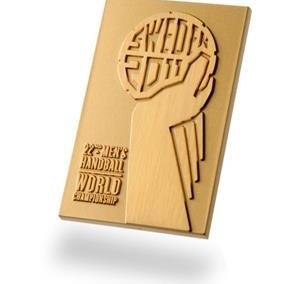 Medalj plakett Handbolls VM