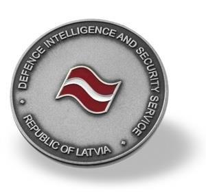 Medalj Lettland