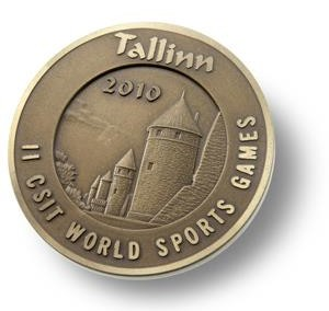 Medalj World Sports Games Tallin