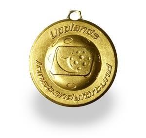 Medalj Upplands Innebandy