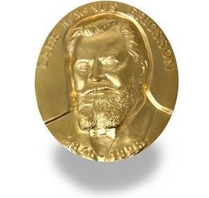 Medalj guld