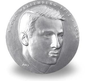 Medalj coin Raoul Wallenberg