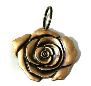 Nyckelring ros