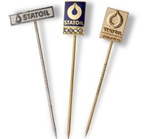 Premieringsnål pin Statoil