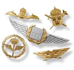 Uniformsemblem Flygvinge SAS