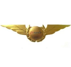 Uniformsemblem Flygvinge Fly Nordic